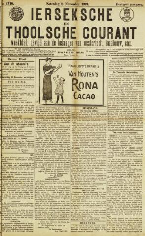 Ierseksche en Thoolsche Courant 1913-11-08