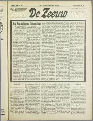 De Zeeuw. Christelijk-historisch nieuwsblad voor Zeeland 1934-03-20