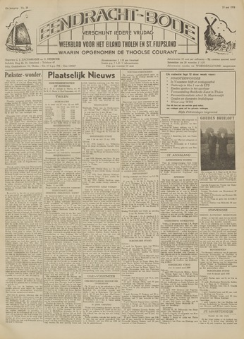 Eendrachtbode (1945-heden)/Mededeelingenblad voor het eiland Tholen (1944/45) 1959-05-15