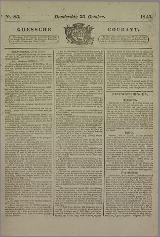 Goessche Courant 1845-10-23