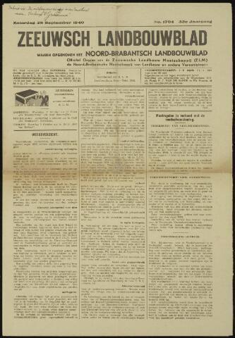 Zeeuwsch landbouwblad ... ZLM land- en tuinbouwblad 1940-09-28