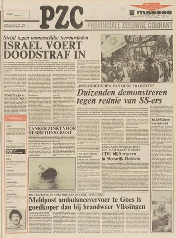 Provinciale Zeeuwse Courant 1979-04-30
