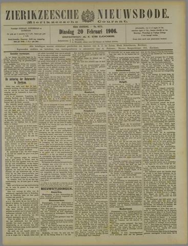 Zierikzeesche Nieuwsbode 1906-02-20