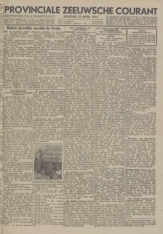 Provinciale Zeeuwse Courant 1943-04-13