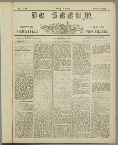 De Zeeuw. Christelijk-historisch nieuwsblad voor Zeeland 1898-10-11