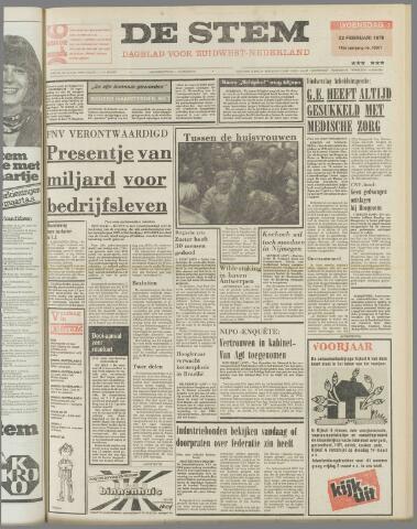 de Stem 1978-02-22