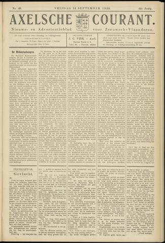 Axelsche Courant 1928-09-14