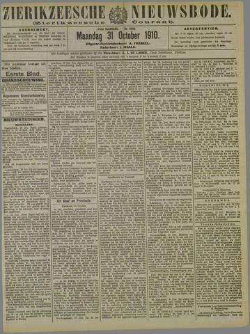 Zierikzeesche Nieuwsbode 1910-10-31