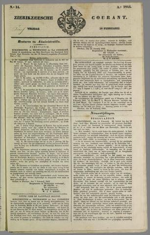 Zierikzeesche Courant 1844-02-16