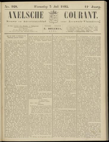 Axelsche Courant 1895-07-03