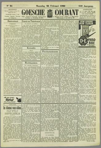 Goessche Courant 1929-02-25