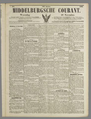 Middelburgsche Courant 1905-11-29