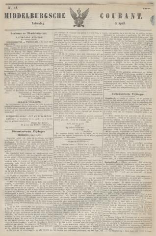Middelburgsche Courant 1851-04-05