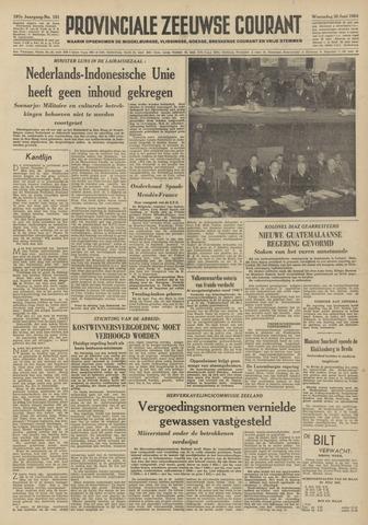 Provinciale Zeeuwse Courant 1954-06-30