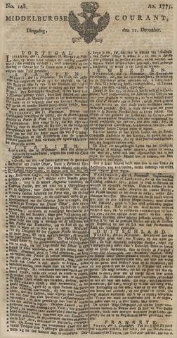 Middelburgsche Courant 1775-12-12