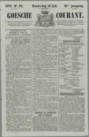 Goessche Courant 1874-07-16