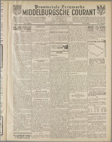 Middelburgsche Courant 1932-01-11