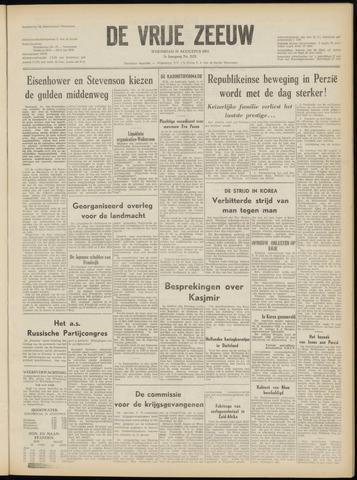 de Vrije Zeeuw 1952-08-27