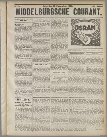 Middelburgsche Courant 1921-11-19