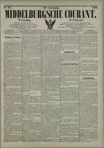 Middelburgsche Courant 1893-02-15