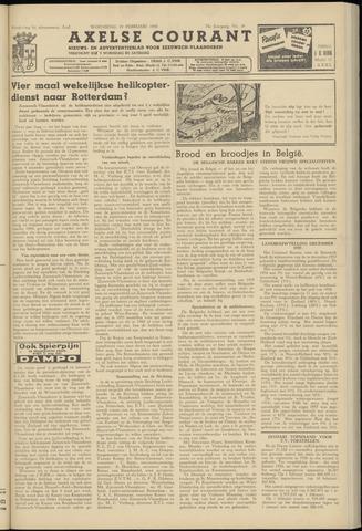 Axelsche Courant 1958-02-19