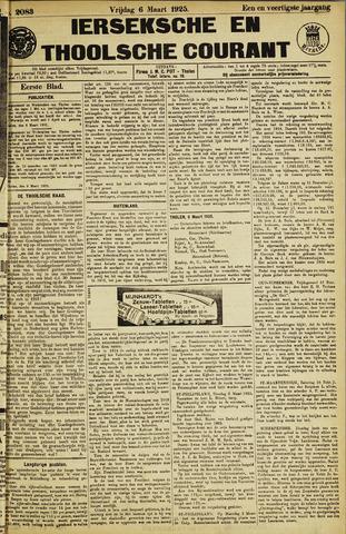 Ierseksche en Thoolsche Courant 1925-03-06