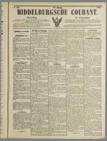 Middelburgsche Courant 1906-08-11