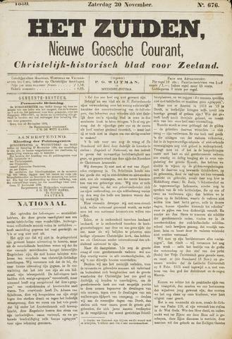 Het Zuiden, Christelijk-historisch blad 1880-11-20