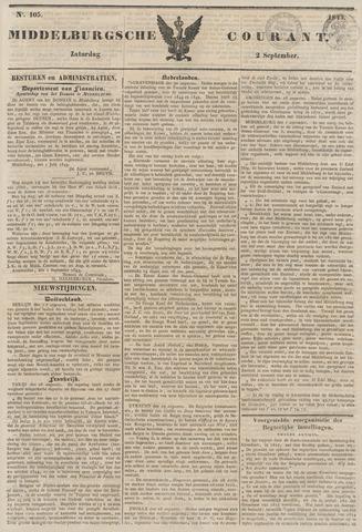 Middelburgsche Courant 1843-09-02