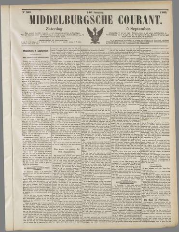 Middelburgsche Courant 1903-09-05