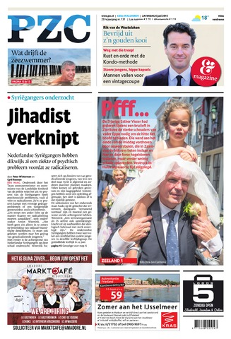 Provinciale Zeeuwse Courant 2015-06-06