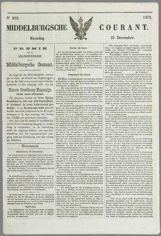 Middelburgsche Courant 1871-12-25