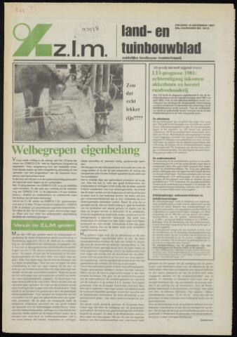 Zeeuwsch landbouwblad ... ZLM land- en tuinbouwblad 1981-12-18