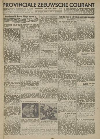 Provinciale Zeeuwse Courant 1944-08-28