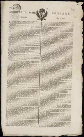 Middelburgsche Courant 1814-05-03