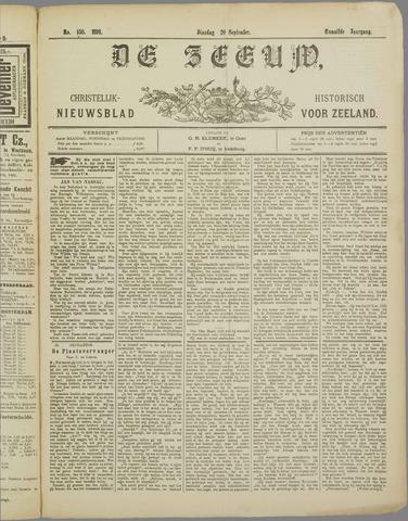 De Zeeuw. Christelijk-historisch nieuwsblad voor Zeeland 1898-09-20
