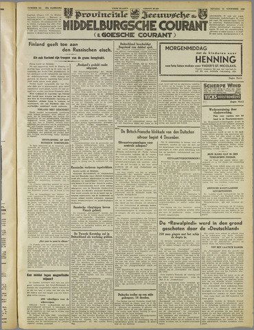 Middelburgsche Courant 1939-11-28