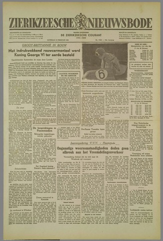Zierikzeesche Nieuwsbode 1952-02-16