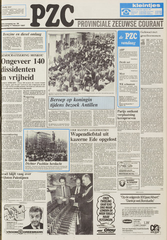 Provinciale Zeeuwse Courant 1987-02-11