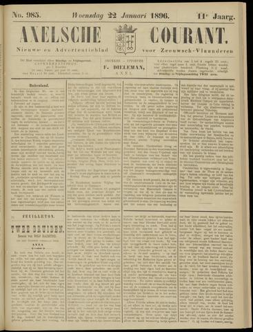 Axelsche Courant 1896-01-22
