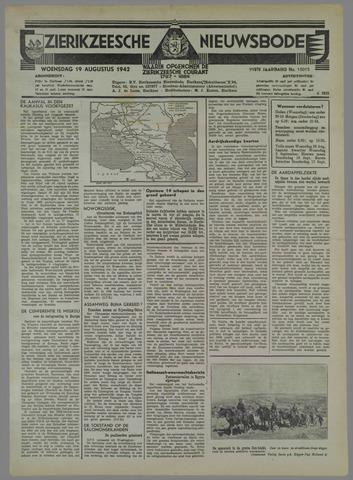 Zierikzeesche Nieuwsbode 1942-08-19