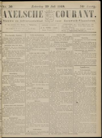 Axelsche Courant 1918-07-20