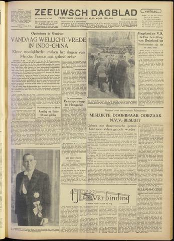Zeeuwsch Dagblad 1954-07-20