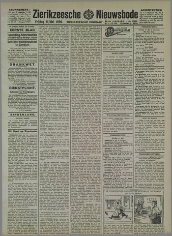 Zierikzeesche Nieuwsbode 1930-05-09