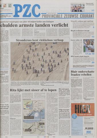 Provinciale Zeeuwse Courant 2005-09-26