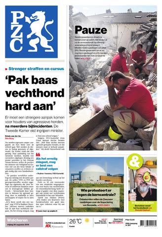 Provinciale Zeeuwse Courant 2016-08-26