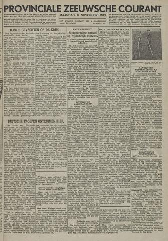 Provinciale Zeeuwse Courant 1943-11-08