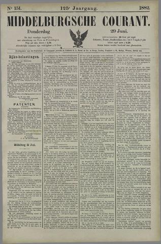 Middelburgsche Courant 1882-06-29