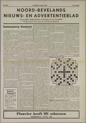 Noord-Bevelands Nieuws- en advertentieblad 1975-01-09