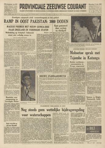 Provinciale Zeeuwse Courant 1960-10-17